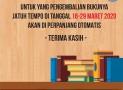 Perpanjangan Otomatis Peminjaman Buku Perpustakaan Daerah Kota Bandung
