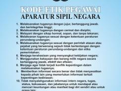 Kode Etik Aparatur Sipil Negara (ASN)